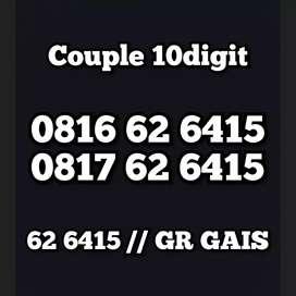 Couple Cantik nomor special 10dgit limited edition berkarakter mewah