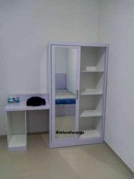 lemari model sleding , simple dan minimalis