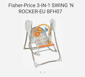 Fisher price swing plus rocker