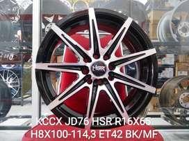 Velg Mobil Altis, Accord VTI dll R16 HSR Wheel Tipe KCCX BMF