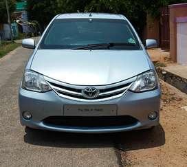 Toyota Etios Liva G, 2012, Petrol