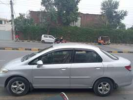 honda city car with driver available on rent ..