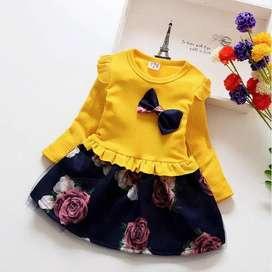 Dress Anak Cewek Flower Blossom