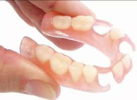 Pasang Gigi Palsu Valplast dan Akrilik