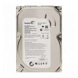 Hard disk 500 gb 1 year Warennty