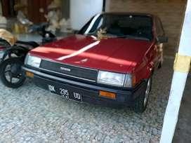 Toyota corolla gl 1.3 merah 1984 mobil simpanan