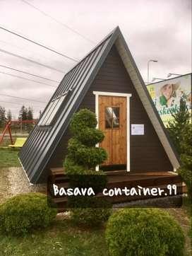 Container rumah- container cottage- container penginapan- container