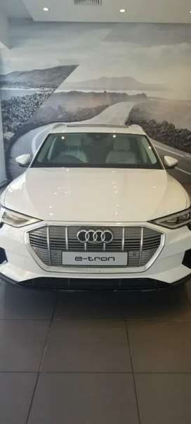 Audi etron  top of the line model .