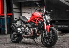 Ducati Monster 821. 8000km riden. 2020 registeted. KL 11 reg 1st owner