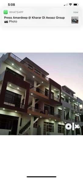 3bhk flats at badala road kharar 2290000