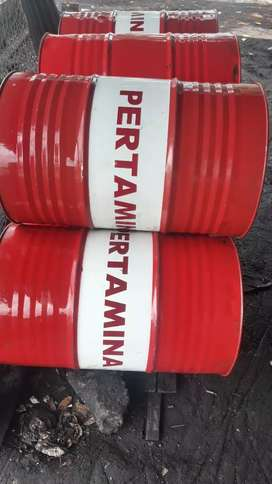 Drum 200 liter bekas oli baru