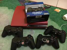 PS3 / PS 3 SLIM 320gb RED lengkap