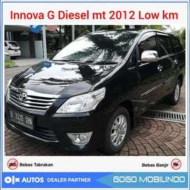Kijang Innova 2.5 G Diesel mt 2012 Antik Low km orisinil