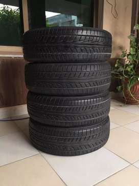 branded firehawk low profile tyres 155/55/R14 for sale innew condition