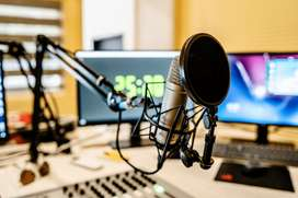 Recording studio on hire for singing,music recording and dubbing
