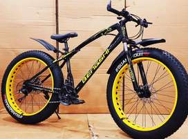 GOLDEN ENTERPRISE. 21GEARS FAT TYRE SPORTS BICYCLES ARE AVAILABLE.