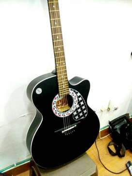 Semi electric acoustic guitar in best price