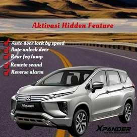 Aktivasi autolock, unlock, hidden feature xpander
