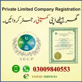 All Industries Corporate Company Registration Brand Reg Audit SECP FBR