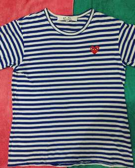 Play comme des garcons t shirts