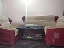 5 in 1 sofa with coffee table