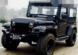 Angry modified Willy jeep