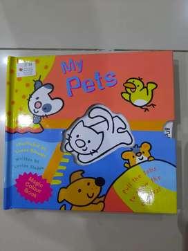 Magic colour book my pets