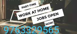 Part time home based work spend 2_3 her earn huge income