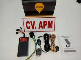 GPS TRACKER gt06n amankan kendaraan, off mesin + server