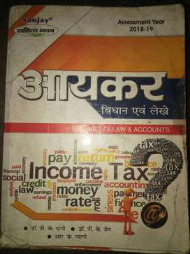 Income tax law and accounts