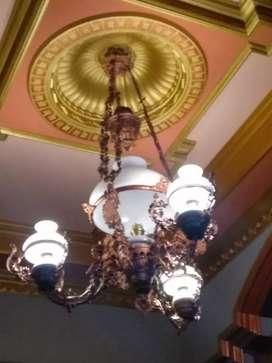 Lampu antik katrol baru stok banyak