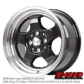 Brisket R15 gbml - Velg Mobil Racing Hsr Wheel Import (free ongkir)
