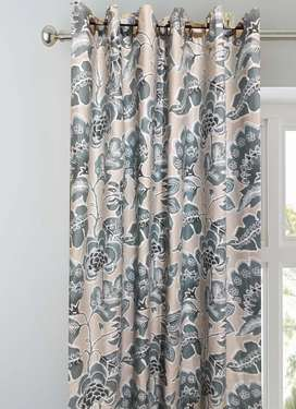 CURTAINS, LINING, DUST PROOF, SIZE OF ONE PANEL (66×90) INCHES .. PAIR