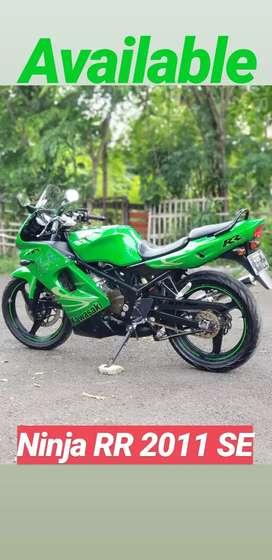 Kawasaki ninja rr 2011 original pajak panjang