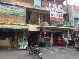 shop without roof in commercial market near aljannat with extra place