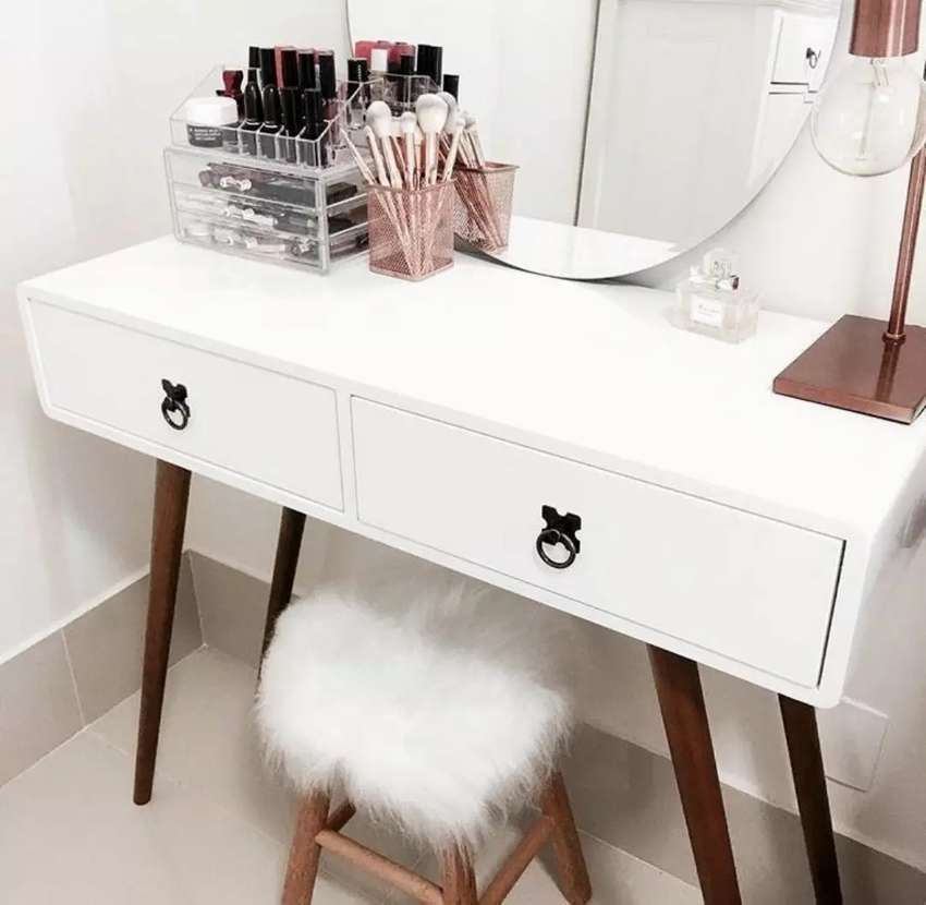 New arrival dressing table 2drawers best quality