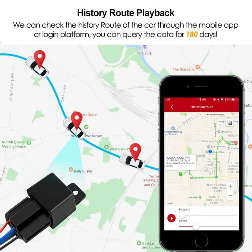 Bike GPS TRACKER Engine lock ZERO LINE RENT pta approved ime