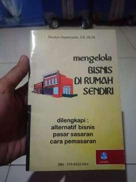 Buku mengelolah bisnis di rmh sendiri