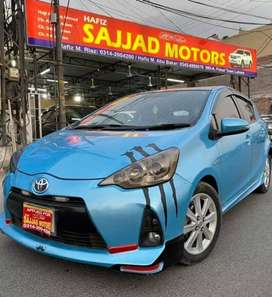 Toyota Aqua G Soft Leather Heated Seats 2013