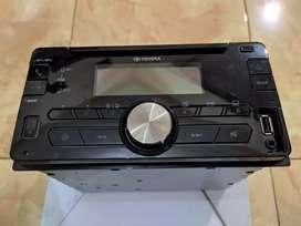 Tape Audio Mobil   Head Unit Toyota Calya Bluetooth Usb