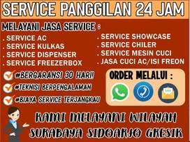 Jasa Cuci Service AC Dispenser,Showcase JL Karang Poh Surabaya