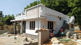 Well built house for sale at 8th mile velloor pampady kottayam