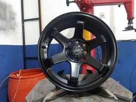 hsr tokyo r15x7 H8x100/114.3 black ready