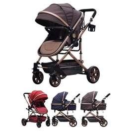 Pliko stroller arizona bs 670 kondisi 95% dijamin bagus warna brown