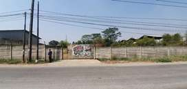 Tanah dijual legok-karawaci pinggir jalan ijin industri & gudang