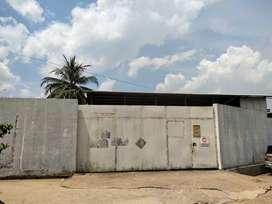 JUAL GUDANG  / TANAH di tengah kota PALEMBANG km 7