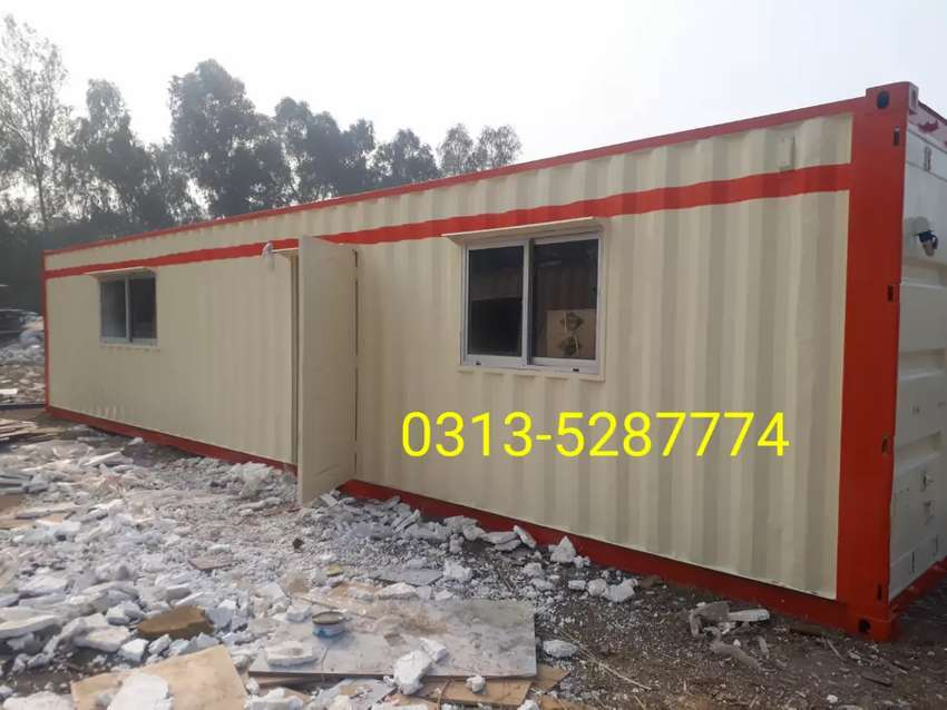Prefabricated houses containers office porta cabin washroom/toilets 0