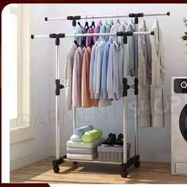 Hanger pakaian/ stand hanger
