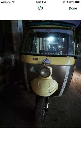 auto riksha god condition