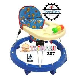 Alar Bantu Jalan Bayi-Baby Walker TJ 307 Warna Kombinasi